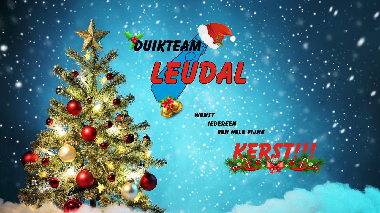 Duikteam Leudal wenst iedereen een mooie kerst!!!